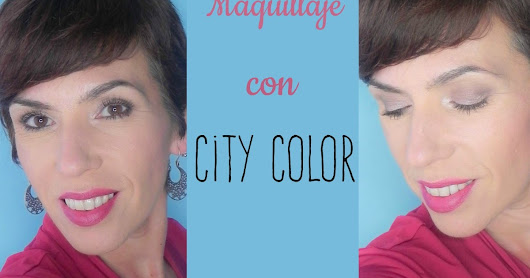 Look con City Color + propuesta de moda negro y magenta.