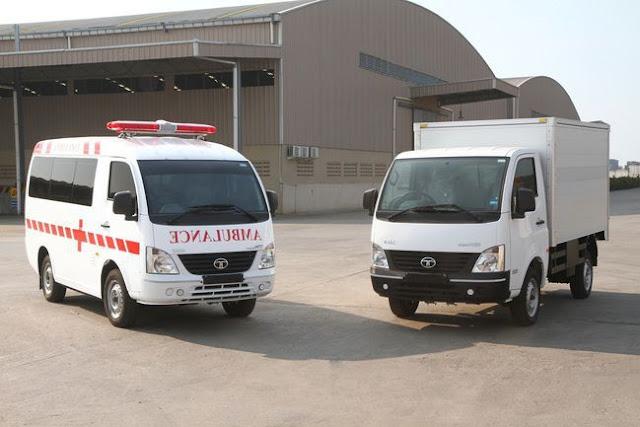 Ambulance & Mobil Box TATA Super ACE