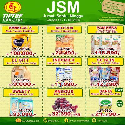 Katalog Promo JSM Tip Top Supermarket Terbaru 2018