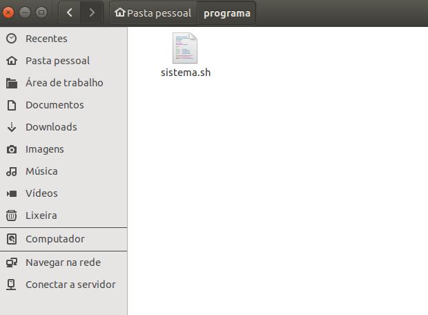 dar permissão para aquivos sh no ubuntu