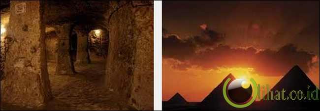Kota Dewa, Piramida Giza