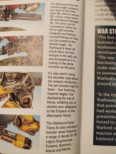 White Dwarf Images Showing off More Warhound Titan Details