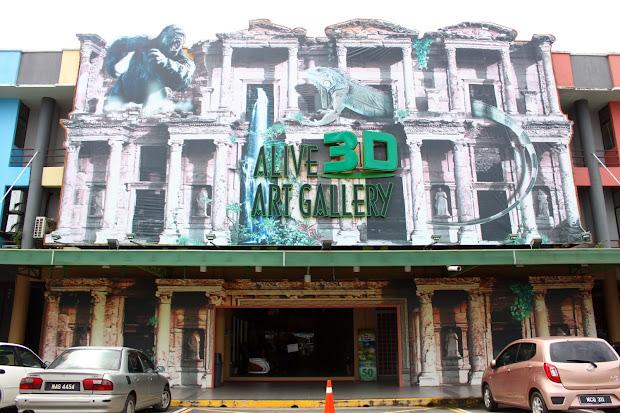 Screw Beautifully Painted Art - Alive 3d Port Dickson