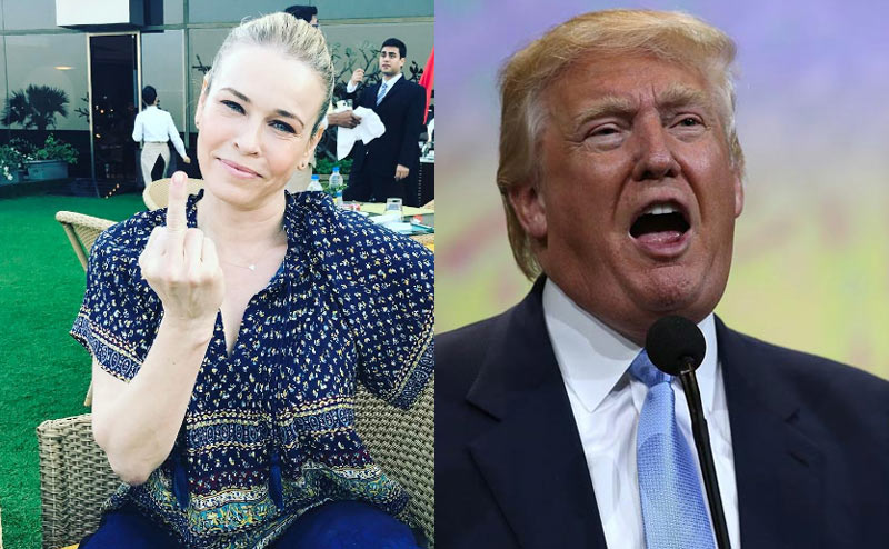 Trump will die like Hitler - Chelsea Handler blasts US president over immigration laws