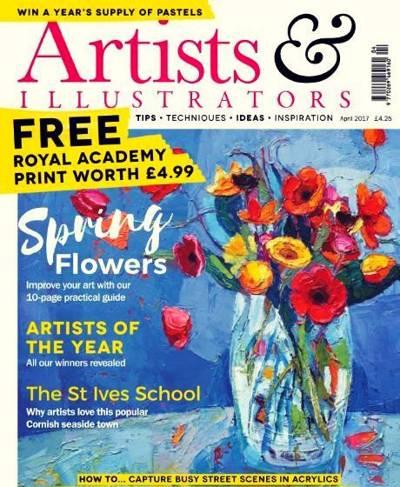 Artists & Illustrators – April 2017
