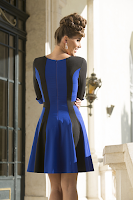 Rochie Chanttal Blue Darkness (newfashionromania)