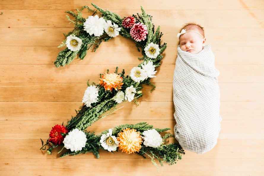 Airy Newborn in Home Lifestyle Session by Something Minted Photography