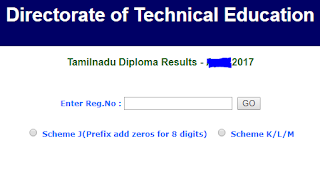WWW.TNDTE.GOV.IN RESULT 2017 OCTOBER, Tndte gov site