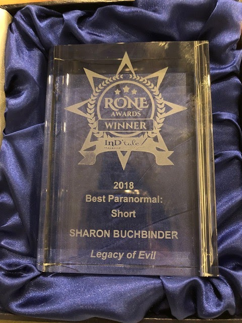 Sharon Buchbinder: And the RONE Winner for Short Paranormal