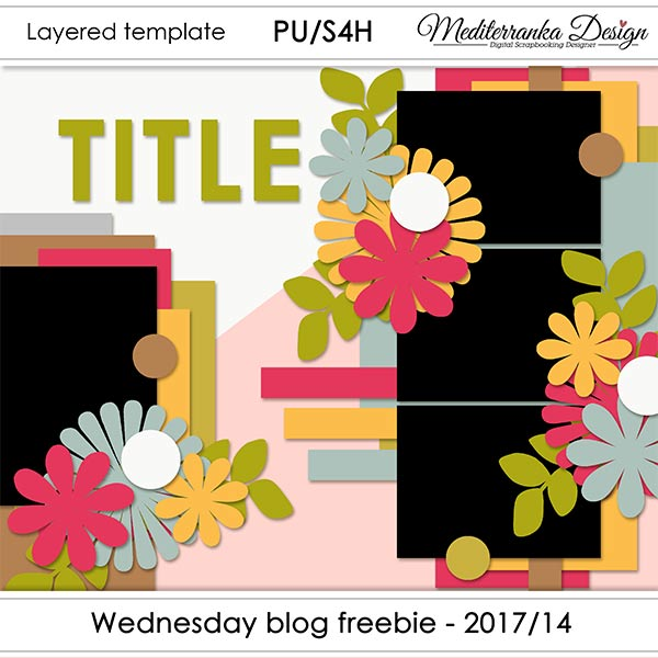 WINNER + WEDNESDAY BLOG FREEBIE - 2017/14