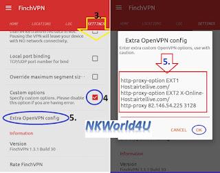 Airtel Free internet Finchvpn trick http://www.nkworld4u.com/