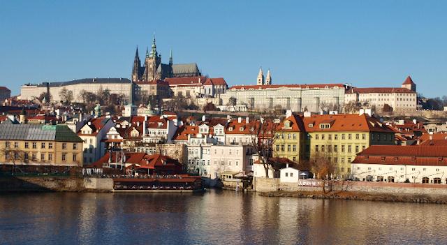 Bairro Hradčany - Distrito do Castelo em Praga