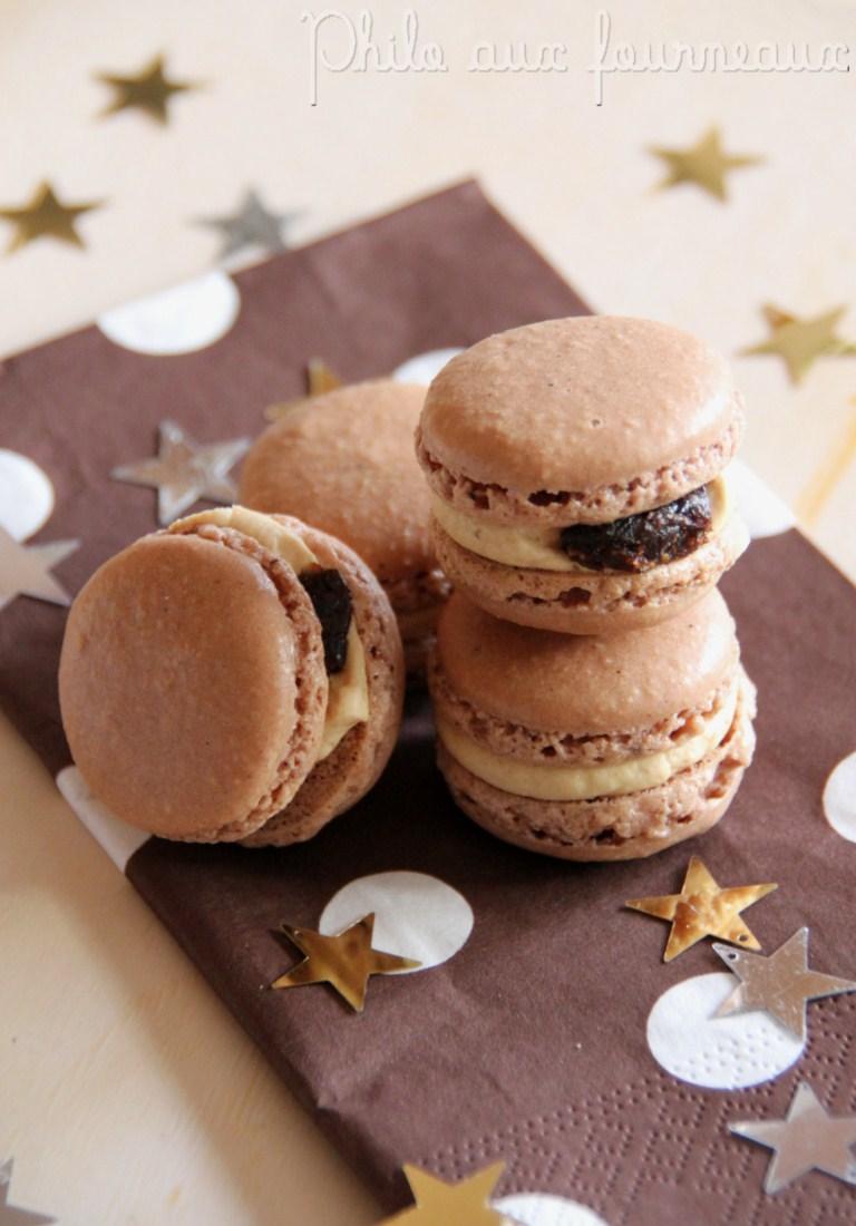 philo aux fourneaux macarons au chocolat garnis au foie gras aux figues. Black Bedroom Furniture Sets. Home Design Ideas