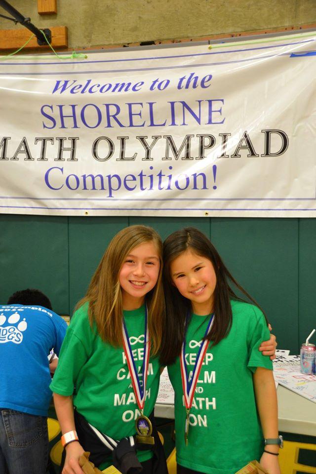 Shoreline Area News: 18th annual Shoreline Math Olympiad