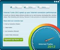 Configurações automática do Internet Turbo
