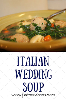 Italian Wedding Soup with Cheese Tortellini