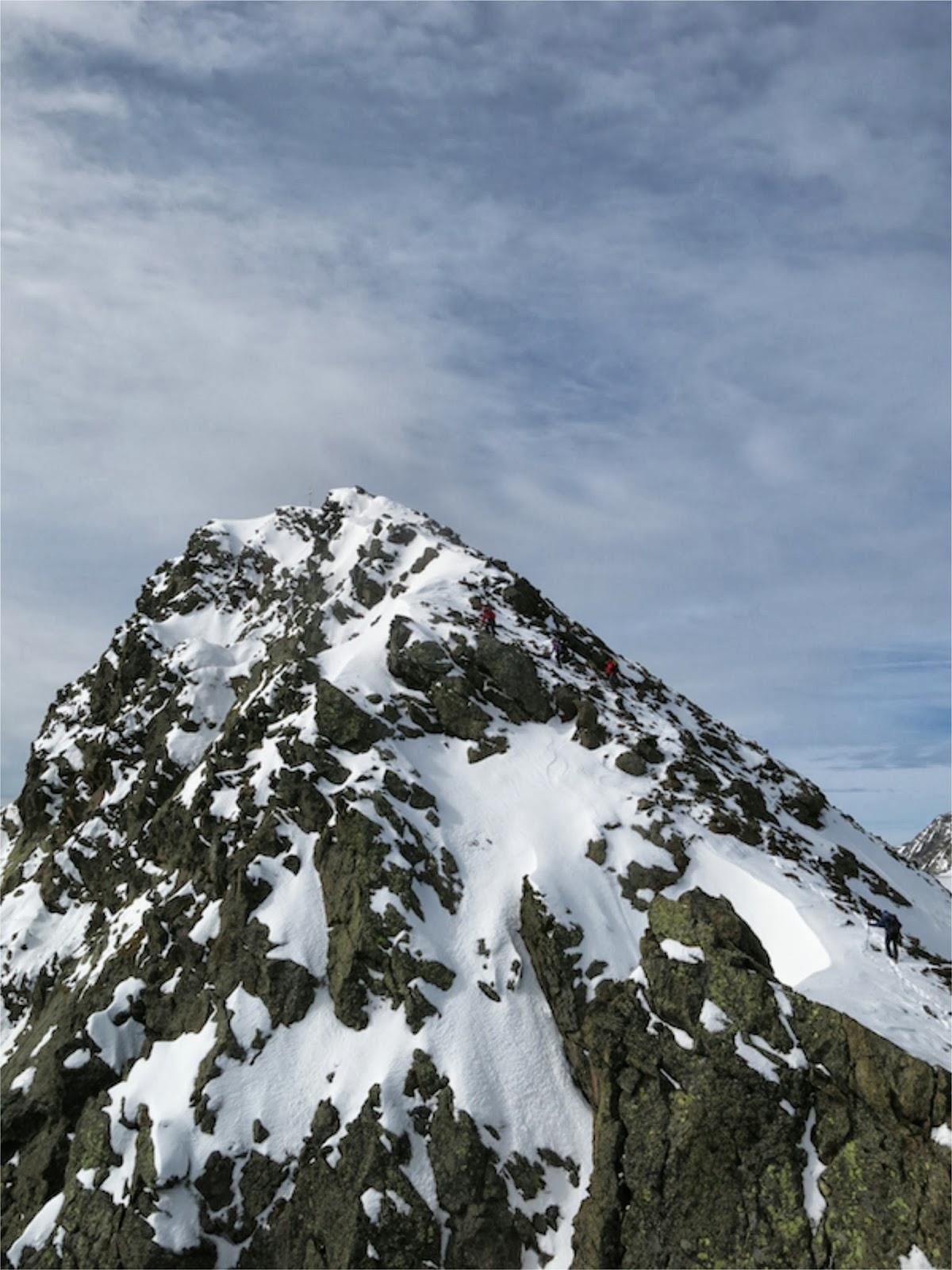 Der Gipfel rückt näher