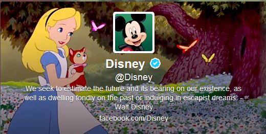 Best Cool Twitter Headers Disney cartoon