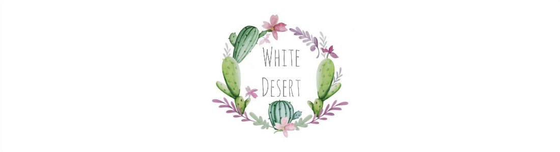 White Desert Farmhouse