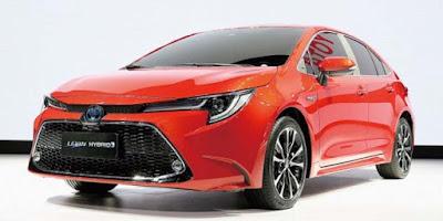 Spesifikasi Toyota Corolla Versi Jepang Terbaru 2018