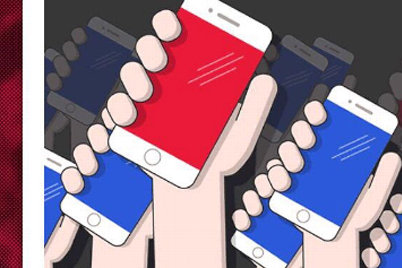 El Modo Rebaño a través de teléfonos inteligentes.