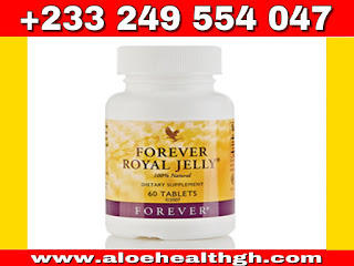 Forever royal Jelly (increase sperm count ) is super health giving food providing a rich natural source which may increase male sperm count.contains B5-B6 vitamins and has over 18 Amino Acids.