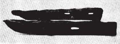 Stare zdjęcie wczesnośredniowiecznych sanek z Opola