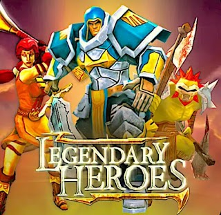 Legendary Heroes MOBA Mod Uncloked