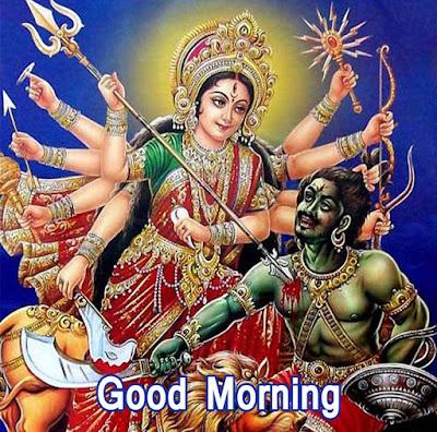 Good Morning Images With Durga Mata ji