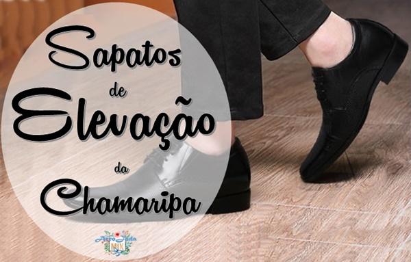 Sapatos com Elevação para Homens e Mulheres - Chamaripa Shoes