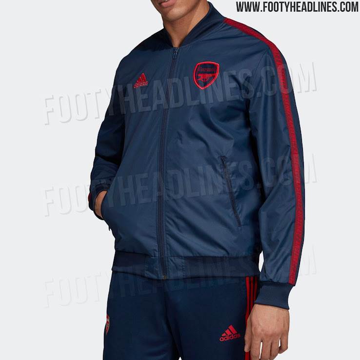 Adidas Arsenal 19 20 Anthem Jacket Leaked Footy Headlines