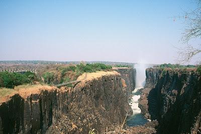 Zimbabwe, Victoria Falls, Victoria Falls Bridge