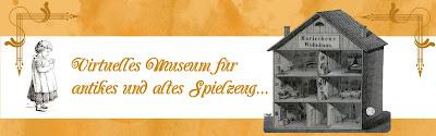 Virtuelles Museum für antikes und altes Spielzeug
