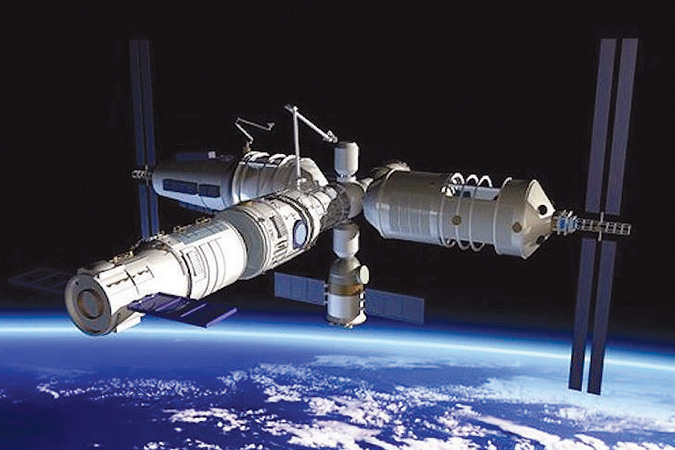 Penelitian China Planned More 13 Laboratories and Experimental Platforms in Space Station