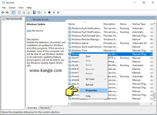 Langkah 3 Cara Disable Windows Update Windows 10 Service Wuauserv
