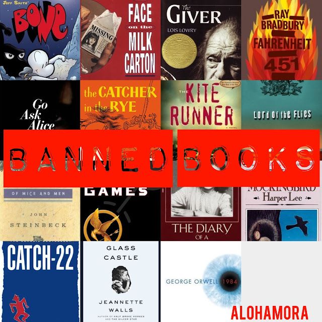 Be a Rebel. Read Banned Books.  Join the Rebellion!  Just a little Star Wars fun to bring awareness to Banned Book Week!  Book lists of kids, children, YA (young adult) teen, and adult books that have all been banned or attempted to be banned.  A lot of classics and powerful books.  Books have power to inspire, educate, teach, change, and unite.  Censorship. Great books. What to read!  Alohamora Open a Book alohamoraopenabook www.alohamoraopenabook.blogspot.com