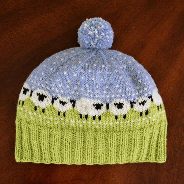 cozy birdhouse | baby baa-ble hat