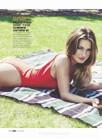 Sam Faiers shows off curves for FHM UK July 2015