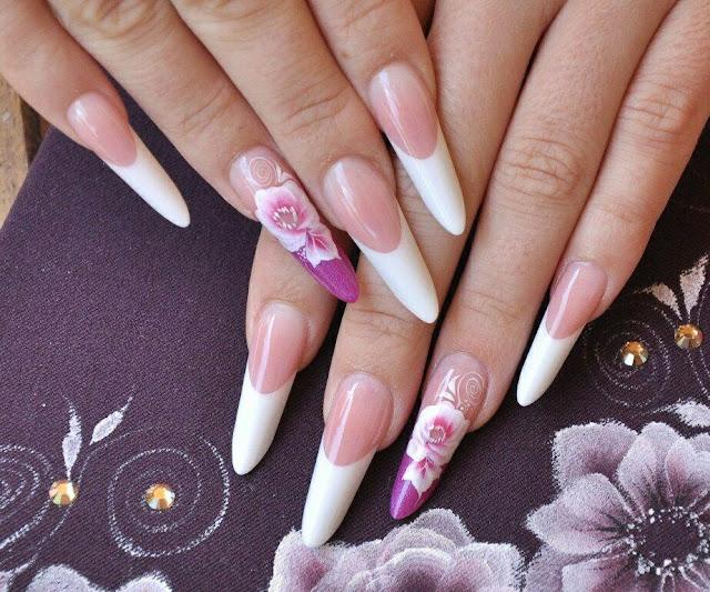 Russian nail arts