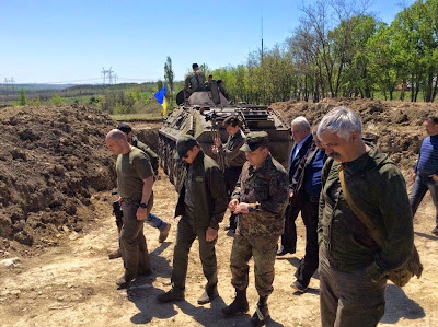 Militants sharply intensified the shellings of Ukrainian army positions in the Donbass