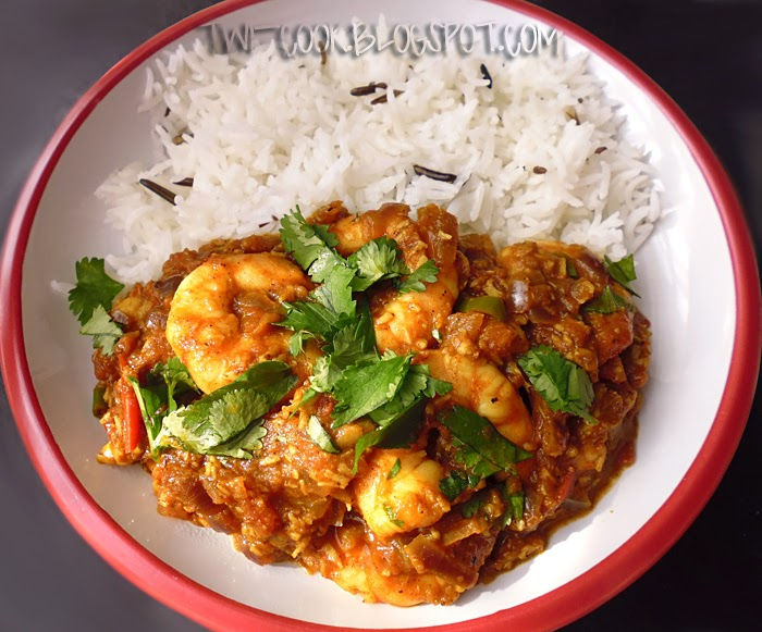 The Way I Cook South Indian Prawn Curry
