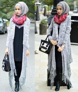 model hijab cantik modern
