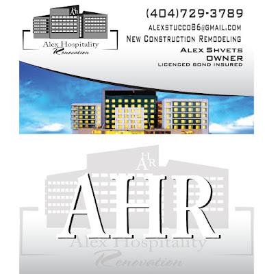 Ur art studio cleveland ohio ahr alex hospitality renovation ahr alex hospitality renovation business cards design by urartstudio colourmoves Image collections