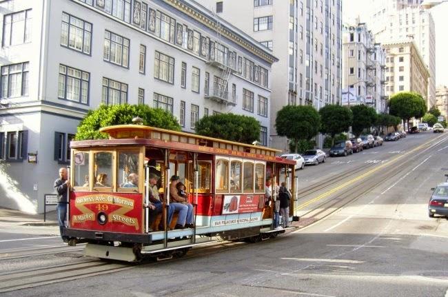 Bonde em San Francisco na Califórnia
