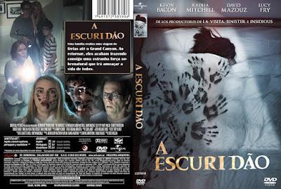 Filme A Escuridão (The Darkness) DVD Capa