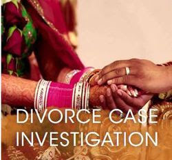 Divorce case evidences