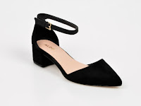 Pantofi ALDO negri, Zulian, din material textil