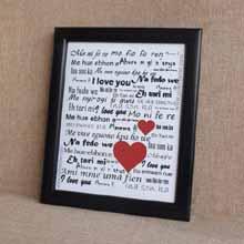 Love, Nigerian Languages Frame, Valentine's Day Gifts in Port Harcourt, Nigeria