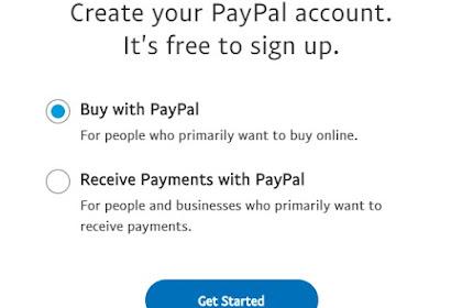 Cara Daftar Paypal dengan Kartu Kredit - Tutorial