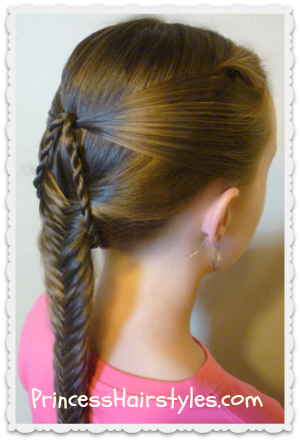 Stupendous Hairstyles For Girls Princess Hairstyles Fish Bone Braids Hairstyles For Men Maxibearus